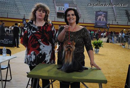 Galilea se proclama mejor Hembra a falta del Punto Obligatorio para terminar su Campeonato de Belleza de España