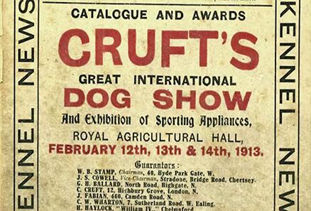 Exposición canina de Crufts 1913